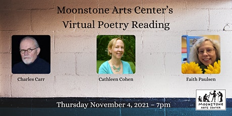 Virtual Poetry Reading: Charles Carr, Cathleen Cohen, and Faith Paulsen tickets