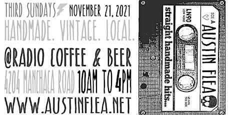 Austin Flea at Radio Coffee & Beer tickets