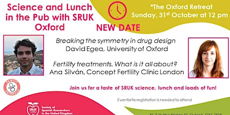 Science and Lunch in the Pub with SRUK Oxford tickets