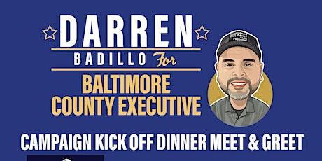Campaign Kick Off Dinner Meet & Greet tickets