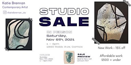 Studio Sale - Katie Brenann, Contemporary Artist tickets
