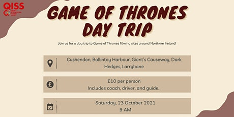 QISS Game of Thrones Trip tickets