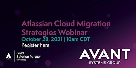 Webinar - Cloud Migration Strategies tickets