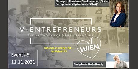 V-Entrepreneurs Wien (AT) - Event #5: Vortrag - Constanze Stockhammer Tickets