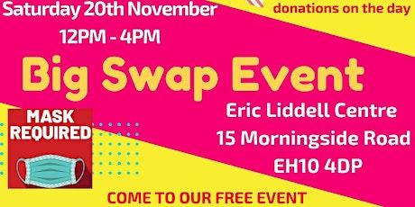 Big Swap Shop Event // Free clothes, utensils, books, etc tickets