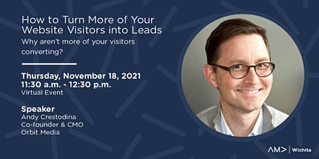 How to Turn More of Your Website Visitors into Leads tickets
