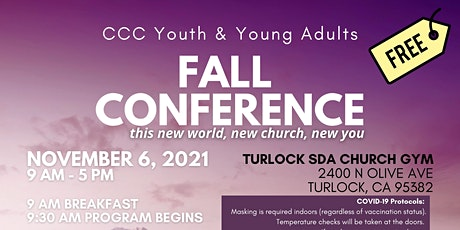 Youth & Young Adult 1-Day Fall Conference tickets
