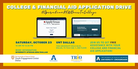 College and Financial Aid Application Workshop tickets
