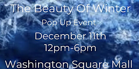 The Beauty of Winter Pop Up tickets