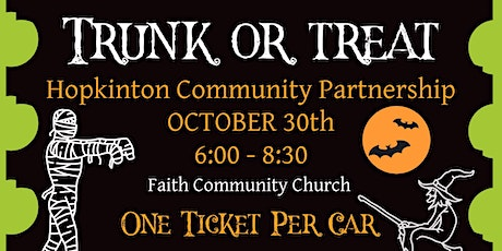 Trunk or Treat Fundraiser-  Dress Up and Drive Thru -  Fun for all Ages tickets