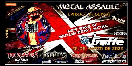 METAL ASSAULT - BRITISH HEAVY METAL TRIBUTE - LERIDA entradas