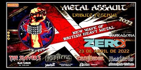 METAL ASSAULT - BRITISH HEAVY METAL TRIBUTE - TARRAGONA entradas