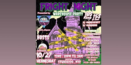 BTL CLIQUE PRESENTS FRIGHT-NIGHT:HOSTED BY PINK TACOS NYC tickets