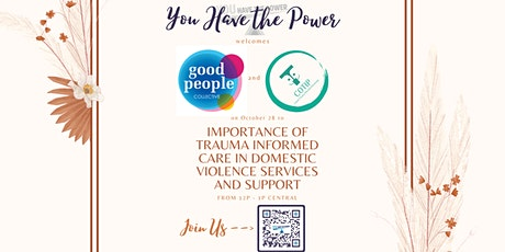 Importance of Trauma Informed Care in Domestic Violence Services and Suppor tickets