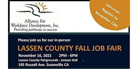 Lassen County Fall Job Fair tickets