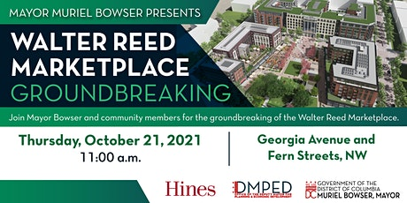 Walter Reed Town Center Groundbreaking tickets