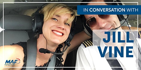 In Conversation with MAF Comms Officer-  Jill Vine- LIVE from Uganda tickets