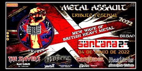 METAL ASSAULT - BRITISH HEAVY METAL TRIBUTE - BILBAO entradas