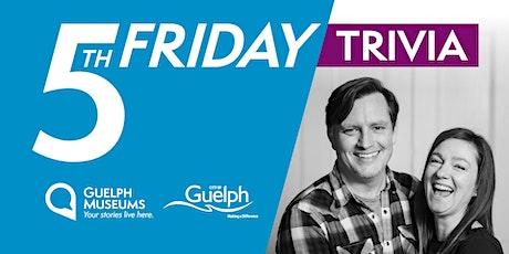Fifth Friday Trivia with Jen & Paul Barson tickets