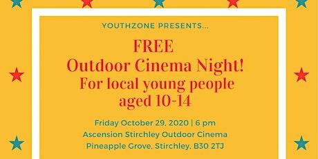 FREE Outdoor Cinema Night tickets