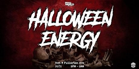 Halloween ENERGY tickets