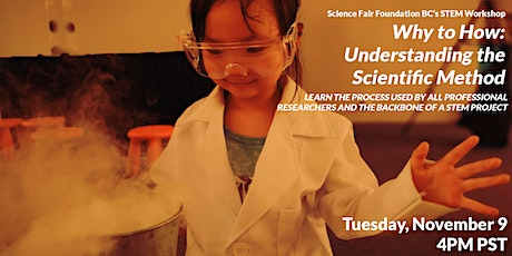 Why to How: Understanding the Scientific Method tickets