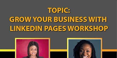 Grow Your Business With LinkedIn Pages Workshop tickets