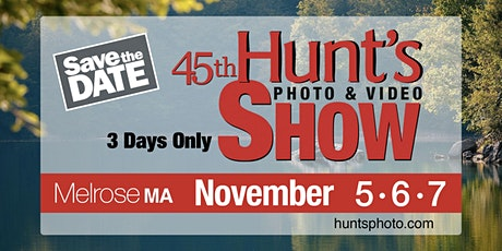 The Hunt's Show: 12-1pm- Wonderful Waterfall Photography with Sigma tickets
