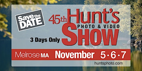The Hunt's Show: 1-2pm- Time-Lapse Photography with Shiv Verma tickets