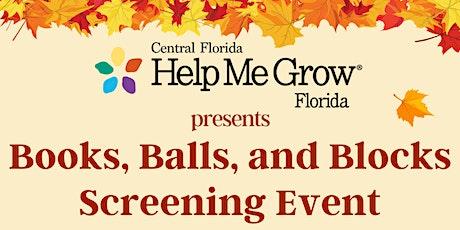Books, Balls, and Blocks Screening Event tickets