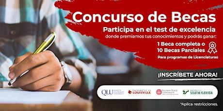 CONCURSO DE BECAS: Test de Excelencia QLU tickets
