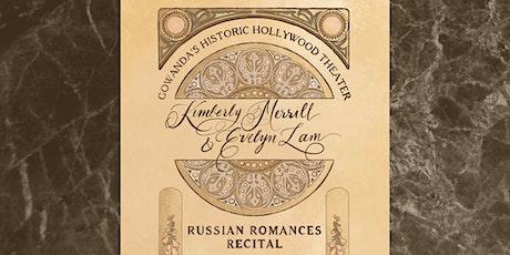 Russian Romances Recital tickets