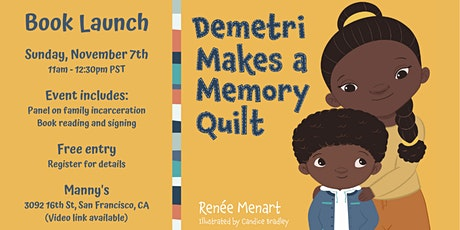 Healing from Family Incarceration: Children's Book Launch w/ Author tickets