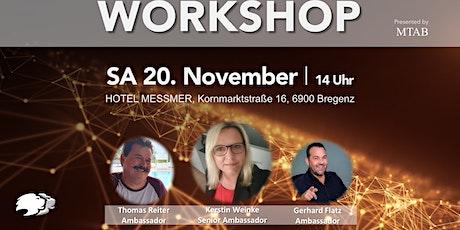 Workshop Bodensee Tickets