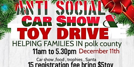 Anti Social Toy Drive tickets