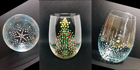 Wine Glass Painting Christmas Edition tickets