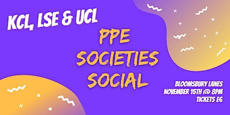 PPE Societies Social - Bloomsbury Lanes tickets