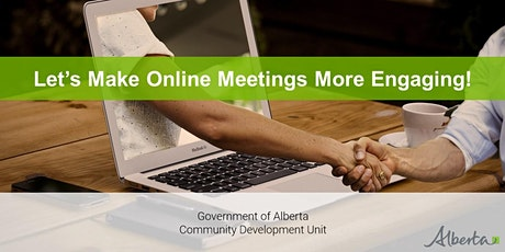 Let's Make Online Meetings More Engaging! A Live Interactive Webinar tickets