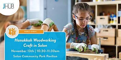 Hanukkah Woodworking craft – Solon