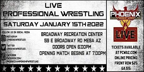 Phoenix Championship Wrestling LIVE on Broadway! tickets