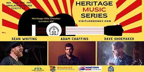 """Heritage Music Series """"Appalachian Sounds"""" tickets"""