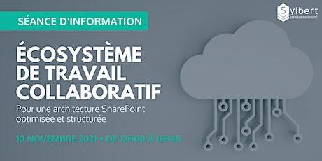 Séance d'information : Structurer et optimiser son architecture SharePoint billets