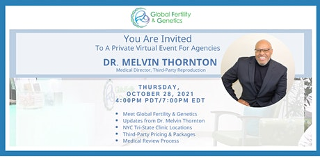 Dr. Melvin Thornton's New Clinic & Agency Update! tickets