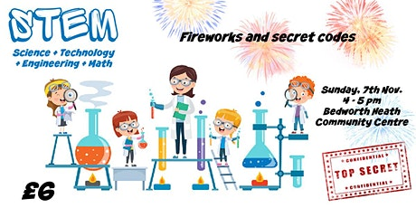 STEM for kids: Fireworks and Secret Codes tickets