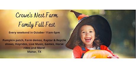 Crowe's Nest Farm Family Fall Festival tickets
