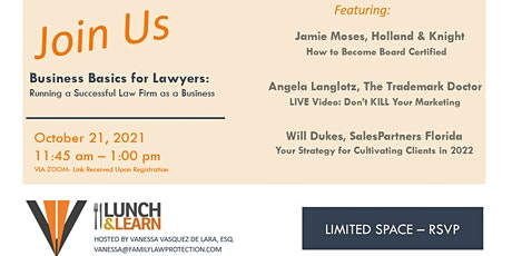 VIRTUAL Business Basics for Lawyers: Running a Successful Law Firm tickets