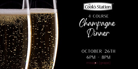 4 Course Champagne Dinner tickets