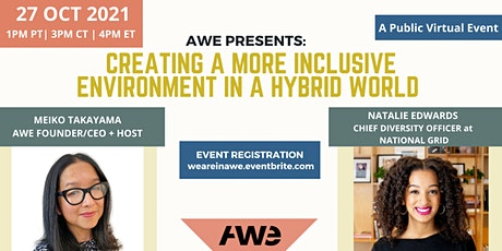 AWE Presents: Creating a More Inclusive Environment in a Hybrid World tickets