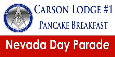 Nevada Day Parade PANCAKE BREAKFAST, Sat. 10/30/21 from 7AM to 9:30AM! tickets