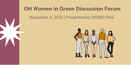 OH Women in Green Discussion Forum tickets